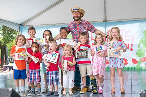 children's coloring contest