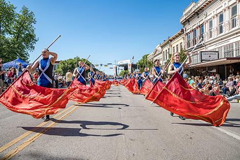 ed poppy festival parade